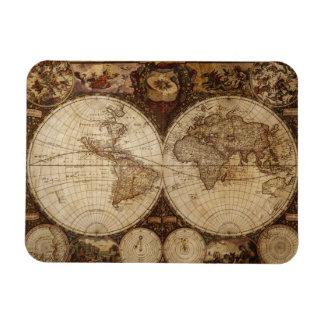 Vintage Map Magnet
