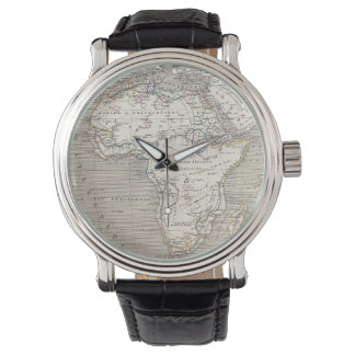 Vintage Map of Africa watch