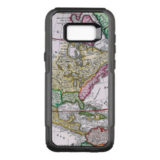 Vintage Map of America OtterBox Commuter Samsung Galaxy S8+ Case