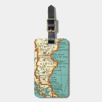 Vintage Map of ARGENTINA Luggage Tag