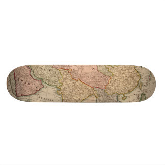 Vintage Map of Asia (1799) Custom Skateboard