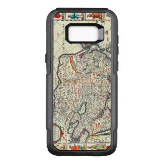 Vintage Map of Asia Circa 1626 OtterBox Commuter Samsung Galaxy S8+ Case