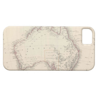 Vintage Map of Australia (1848) iPhone 5 Covers