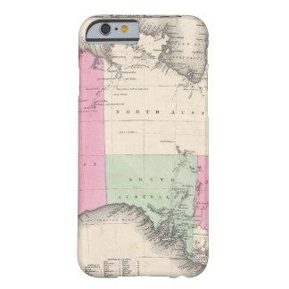 Vintage Map of Australia 1862 iPhone 6 Case
