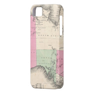 Vintage Map of Australia (1862) iPhone 5 Cover