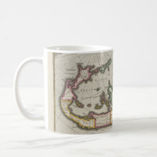 Vintage Map of Bermuda (1638) Coffee Mug
