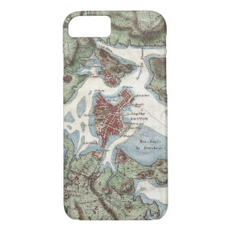 Vintage Map of Boston Harbor (1807) iPhone 7 Case