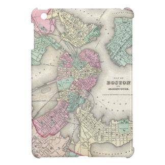 Vintage Map of Boston Harbor 1857 iPad Mini Covers