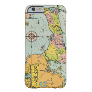 Vintage Map of Cape Cod Barely There iPhone 6 Case
