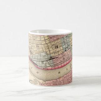 Vintage Map of Cincinnati (1780) Coffee Mug