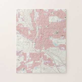 Vintage Map of Colorado Springs CO (1961) 2 Jigsaw Puzzle