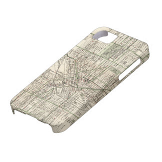 Vintage Map of Denver Colorado (1920) iPhone 5 Covers