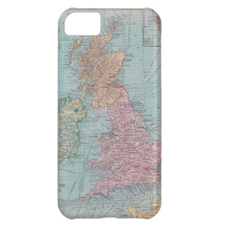Vintage Map of England - Iphone 5 case