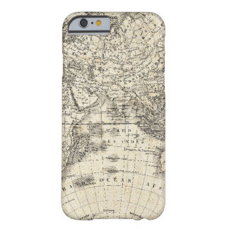 Vintage Map Of Europe and Asia Barely There iPhone 6 Case
