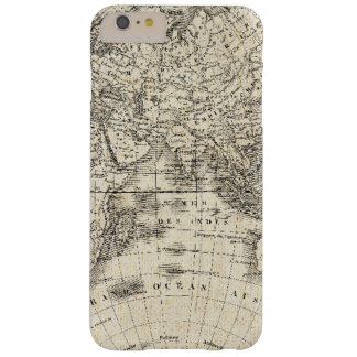 Vintage Map Of Europe and Asia Barely There iPhone 6 Plus Case