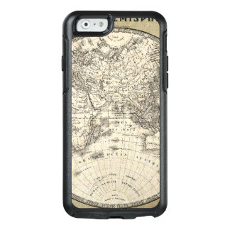 Vintage Map Of Europe and Asia OtterBox iPhone 6/6s Case