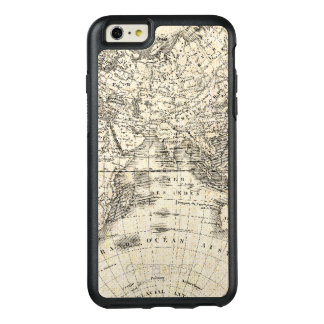 Vintage Map Of Europe and Asia OtterBox iPhone 6/6s Plus Case