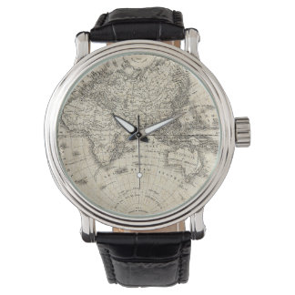 Vintage Map Of Europe and Asia Watch