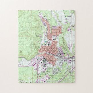 Vintage Map of Flagstaff Arizona (1962) Jigsaw Puzzle
