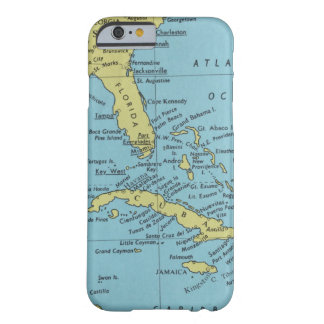 Vintage map of Florida and Cuba Barely There iPhone 6 Case
