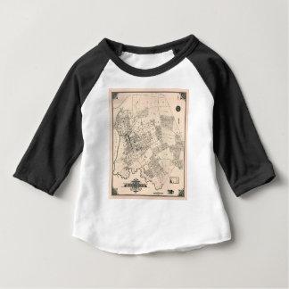 Vintage map of Flushing 1894 Baby T-Shirt