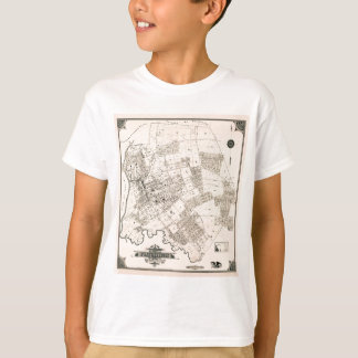 Vintage map of Flushing 1894 T-Shirt