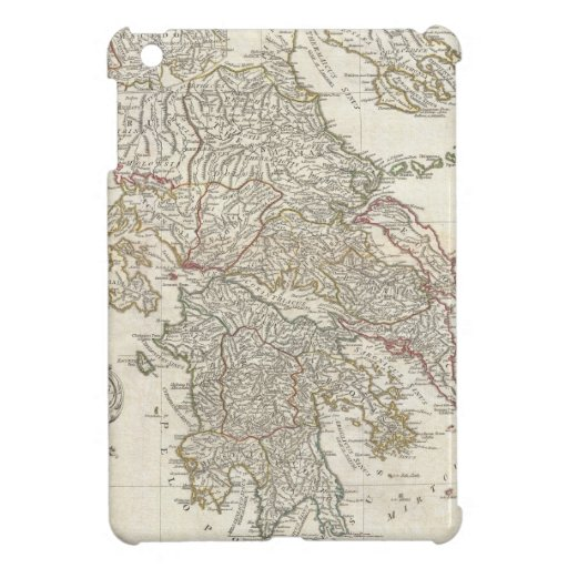 Vintage Map of Greece (1794) iPad Mini Cover