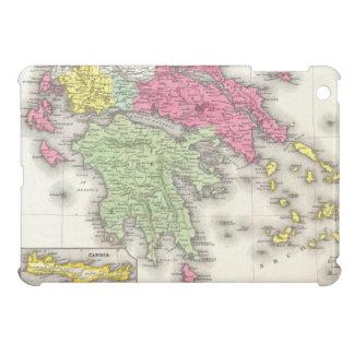 Vintage Map of Greece (1853) iPad Mini Covers