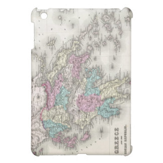 Vintage Map of Greece (1855) Cover For The iPad Mini