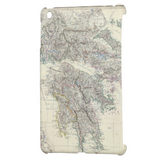 Vintage Map of Greece (1861) Cover For The iPad Mini