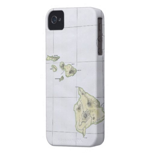 how to store photos from iphone vintage map of hawaii 1883 iphone 4 covers zazzle 1883