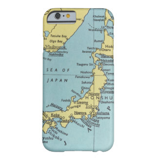 Vintage map of Japan Barely There iPhone 6 Case
