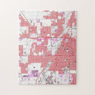 Vintage Map of Las Vegas Nevada (1967) 2 Jigsaw Puzzle