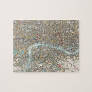 Vintage Map of London (1848) Puzzles