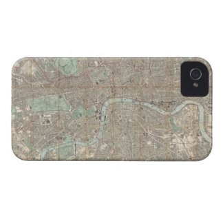 Vintage Map of London (1890) Case-Mate iPhone 4 Case