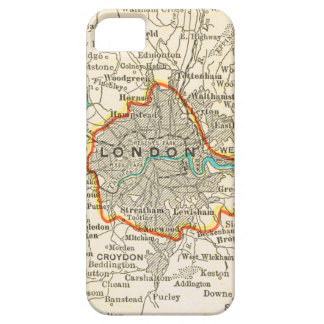 Vintage Map of LONDON ENGLAND iPhone 5 Case