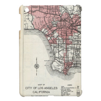 Vintage Map of Los Angeles California iPad Mini Ca Cover For The iPad Mini