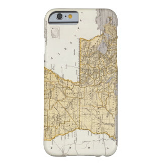 Vintage Map of Louisiana (1845) Barely There iPhone 6 Case