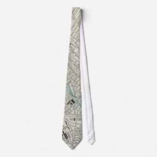 Vintage Map of Montreal (1901) Tie