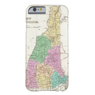 Vintage Map of New Hampshire (1827) Barely There iPhone 6 Case