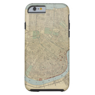 Vintage Map of New Orleans (1919) Tough iPhone 6 Case