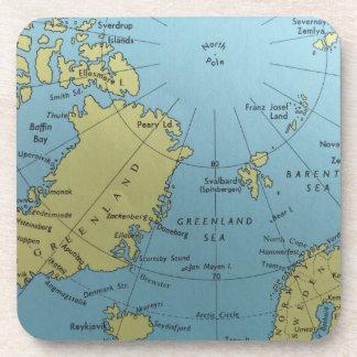 Vintage map of North Pole Coaster