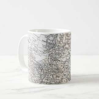 Vintage Map of Northern Europe & Russia Gift Coffee Mug
