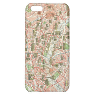 Vintage Map of Paris (1920) Cover For iPhone 5C