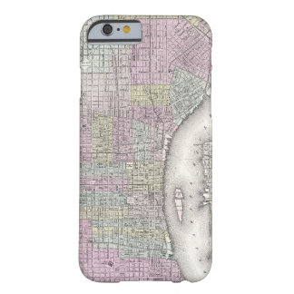 Vintage Map of Philadelphia (1855) Barely There iPhone 6 Case