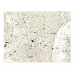Vintage Map of Philadelphia (1885) Postcards