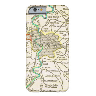 Vintage Map of ROME ITALY Barely There iPhone 6 Case