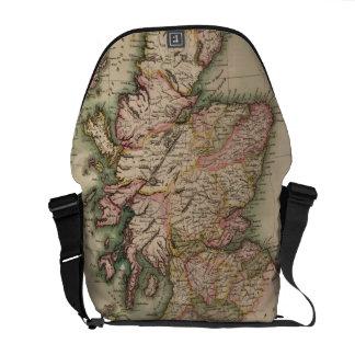 Vintage Map of Scotland (1814) Courier Bag