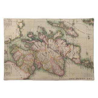 Vintage Map of Scotland (1814) Placemat