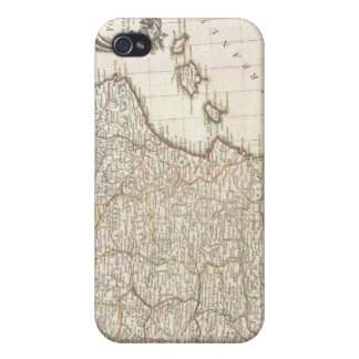 Vintage Map of Spain 1775 iPhone 4 Covers